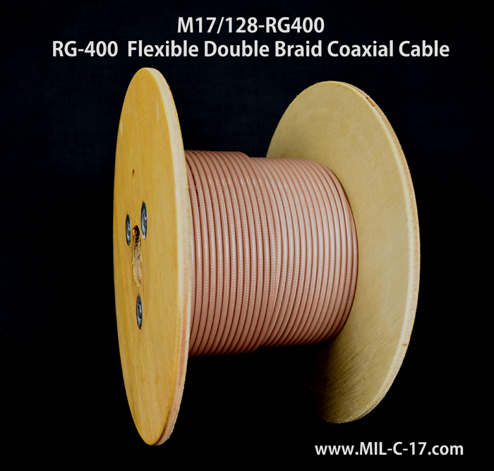RG-400, RG400, RG-400 Cable, RG400 Cable, M17/128-RG400, RG-400 RF Coaxial Cable, Coaxial Cable Manufacturer, RF Coaxial Cable Manfacturer RG-400 Cable Manufacturer, RG-400 Coaxial Cable, MIL-C-17/128 Cable, MIL-DTL-17 RG-400 Cable