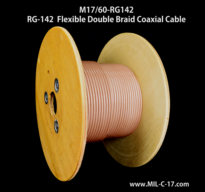 RG-142, RG142, RG-142 Cable, RG142 Cable, RG-142 B/U, M17/60-RG142, RG-142 RF Coaxial Cable, RG-142 Cable Manufacturer, Coaxial Cable Manufacturer, RF Coaxial Cable ManfacturerRG-142 Coaxial Cable, MIL-C-17/60 Cable, MIL-DTL-17 RG-142 Cable